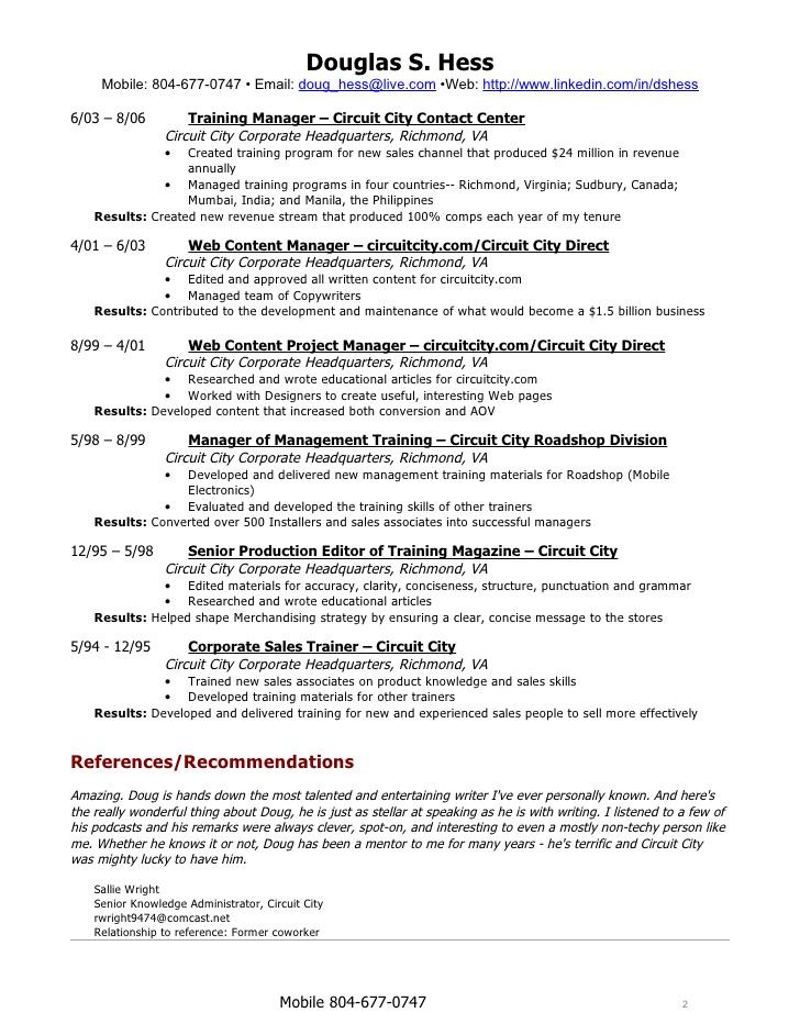 professional resume writers richmond va curriculum vitae sample