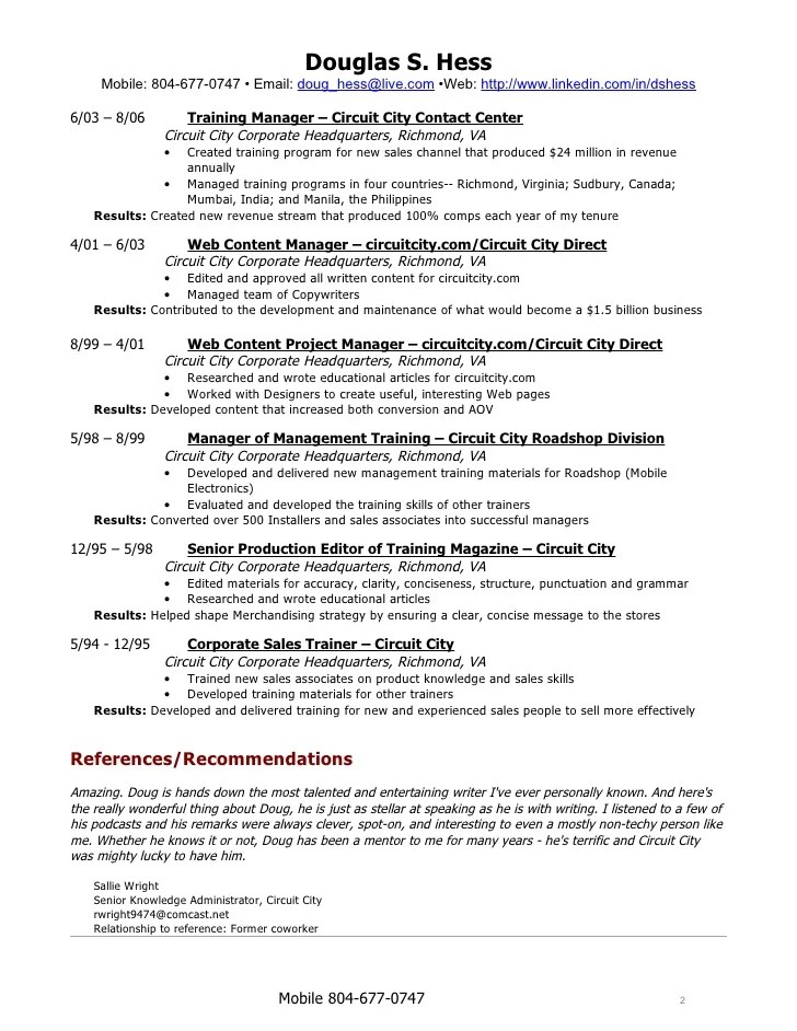 Superb Professional Resume Writing Services Northern Virginia