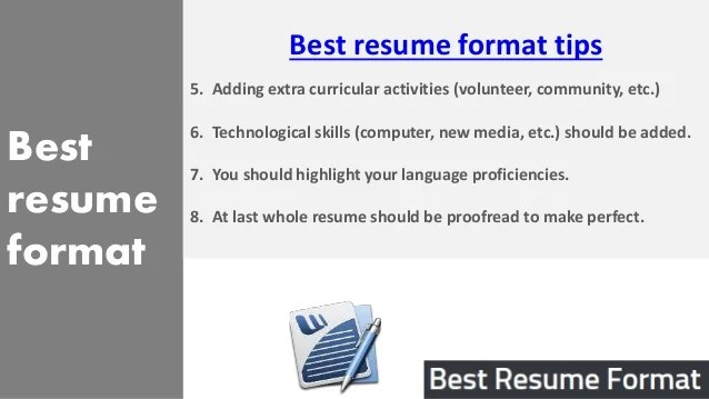 resume language skills beginner