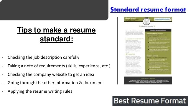 it resume tips meganwest co