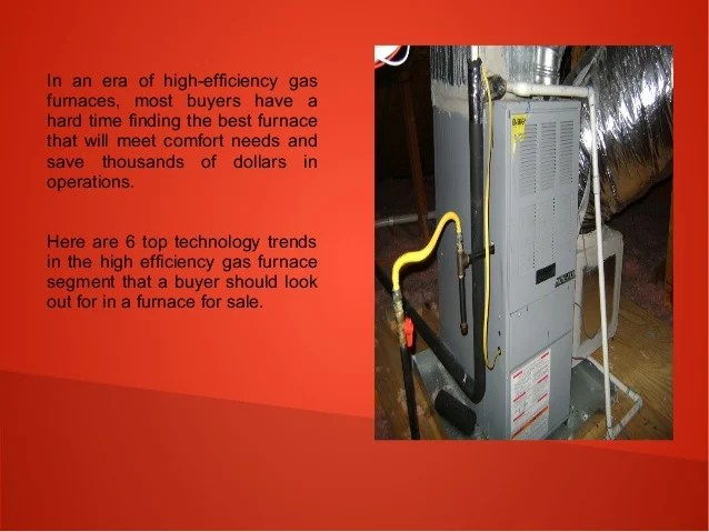 High Efficient Gas Furnace Facias
