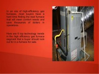 High Efficient Gas Furnace - Facias