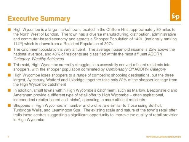 report executive summary example - Onwebioinnovate - example executive summary report