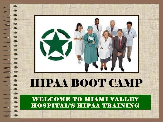 Hipaa Training By Miami Valley Hospital39s Hipaa Training