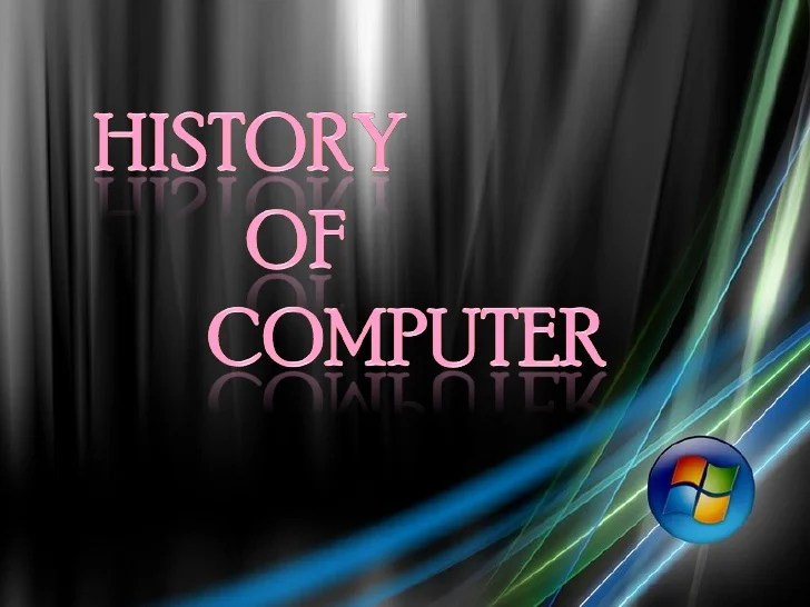 The History Of Computers Essay - Department of Linguistics