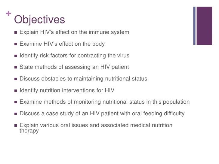 Teach Nutrition Grade 7 To 8 Case Studies Hiv Case Study Presentation