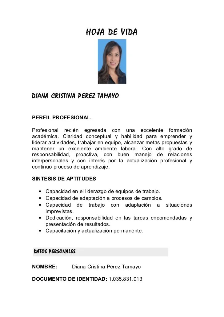 Curriculum Vitae Ejemplo Abogado | Resume Template For A