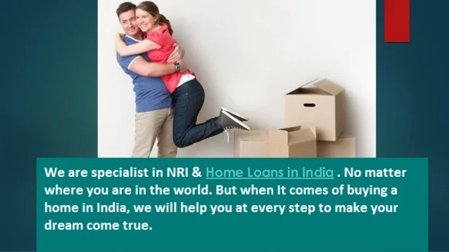 NRI home loan