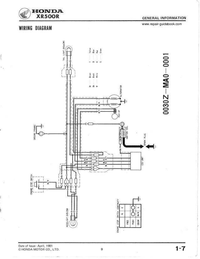 honda 155 wiring harness diagram