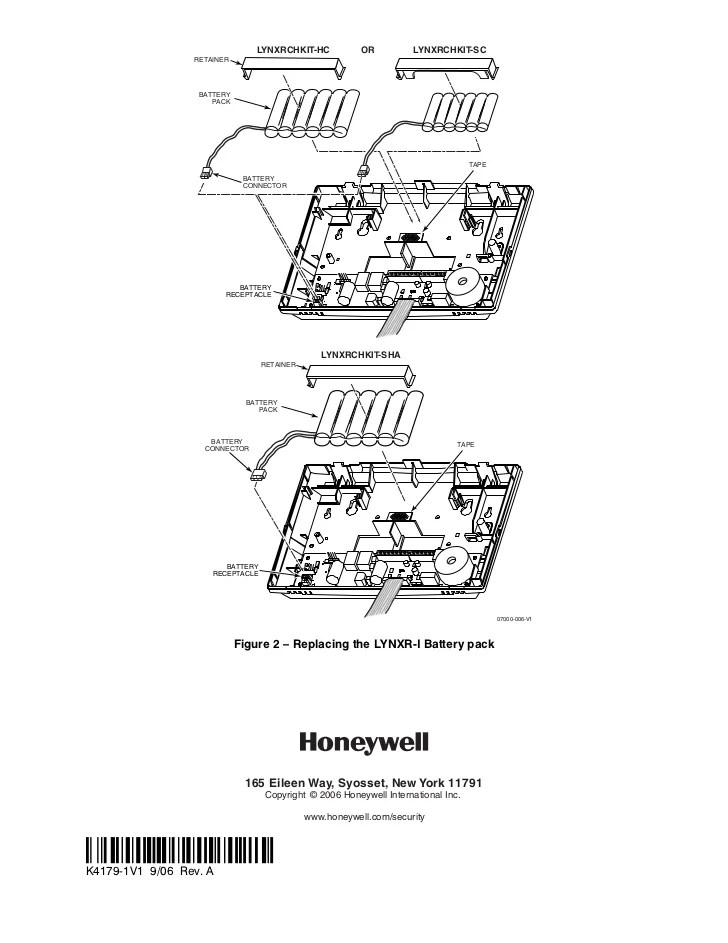 lynx alarm wiring kits