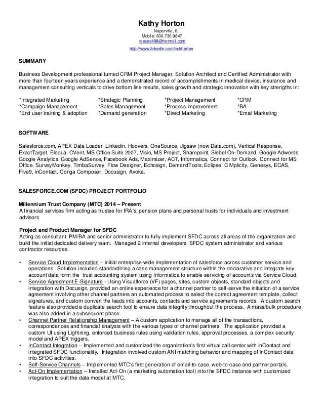 cv certification salesforce certified administrator filetype pdf