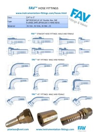 SS 316 Hose Fittings