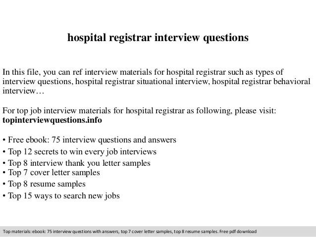 Assistant Registrar Cover Letter - Durunugrasgrupassistant registrar