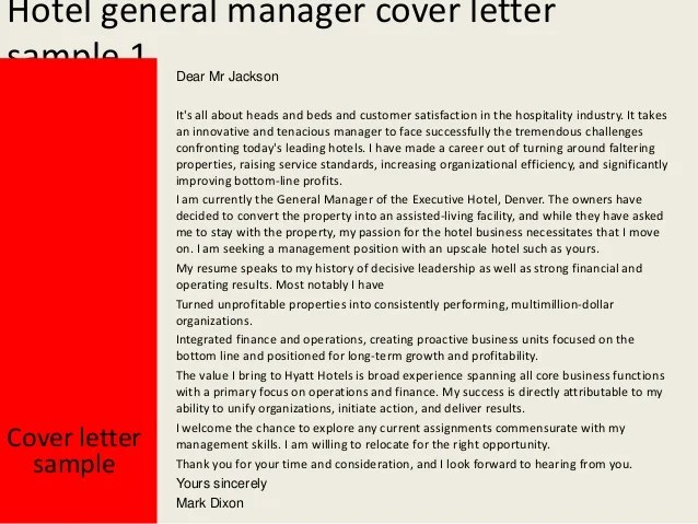 Estate Manager Cover Letter - Gse.Bookbinder.Co