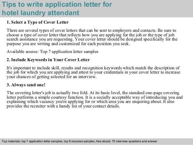How To Write A Cv For A Cabin Crew Position With Pictures Hotel Laundry Attendant Application Letter