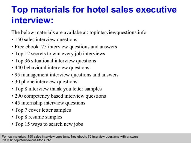 Marvelous Hotel Interview Questions And Answers   Baskanidai