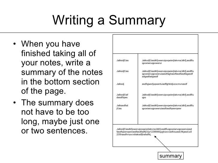 a summary on do you - Onwebioinnovate - how to write a summary for a resume