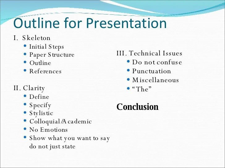 5 minute powerpoint presentation examples