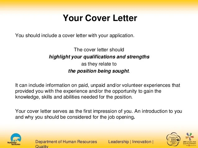 resume cover letter what should it include resumes and cover letters - What Should I Include In A Cover Letter