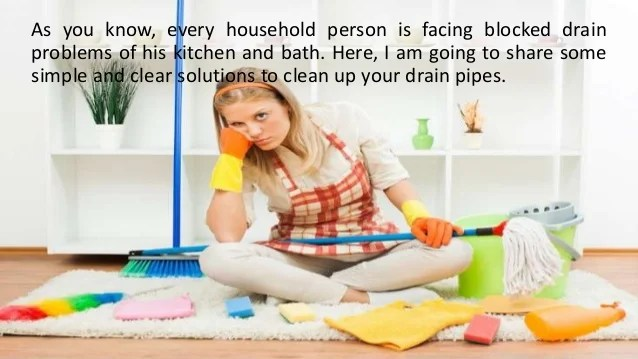 How To Clear Blocked Drains With Pressure Washing