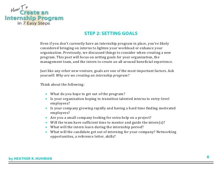 Letter Of Reference Long Template Sample Form How To Create An Internship Program In 7 Easy Steps