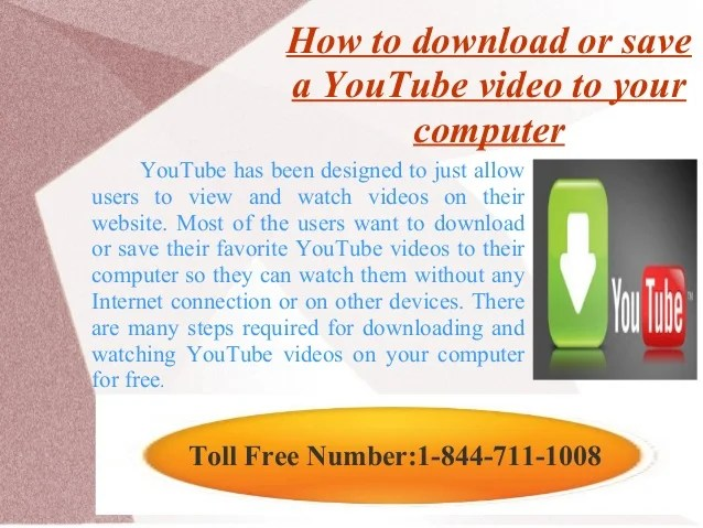 How to save youtube videos to your computer how do you music from download 50 how to download youtube video ccuart Images