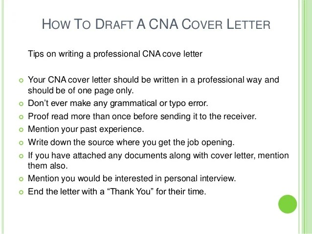 Stunning Cover Letter Examples For Nursing Assistant Gallery - New - Cover Letter For Cna