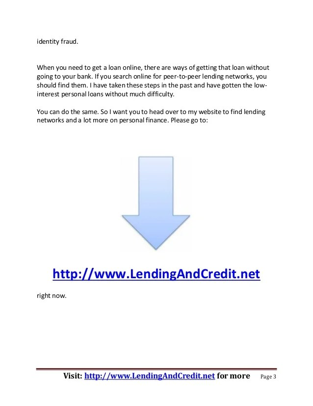 How to Find Low Interest Rate Personal Loans Online