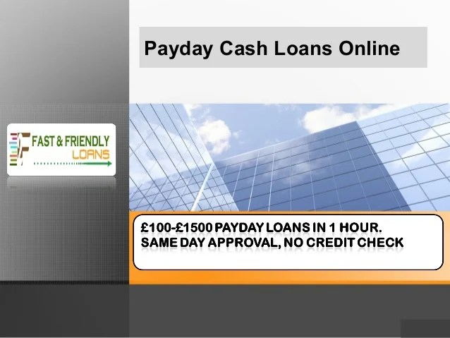 How to get payday cash loans online