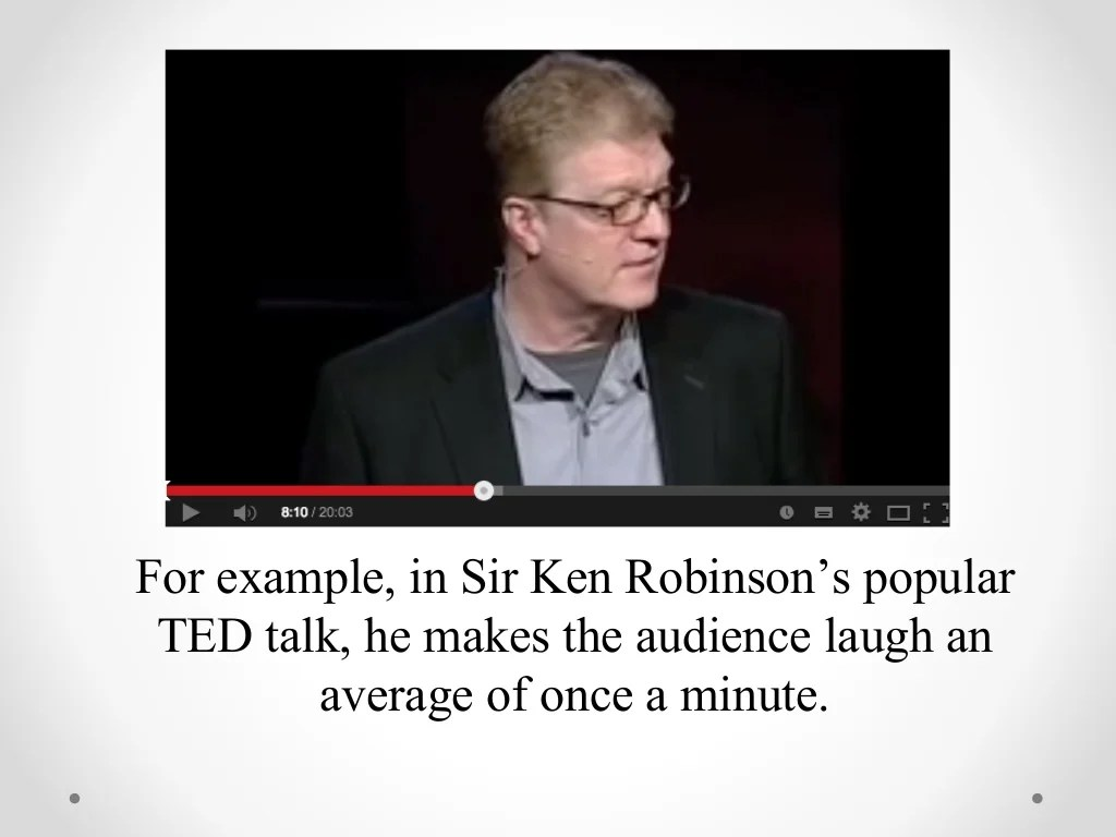 Sir Ken Robinson Libros 1 Create An Expectation Then