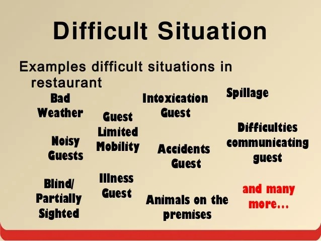 how to handle difficult situations - Eczasolinf - How Do You Handle Difficult Situations