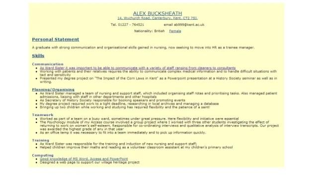 how to make good resume for job - Minimfagency