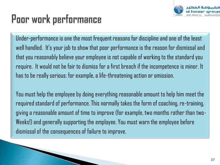 sample warning letter to employee for poor performance - Hizli