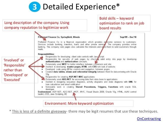 resume keyword optimization