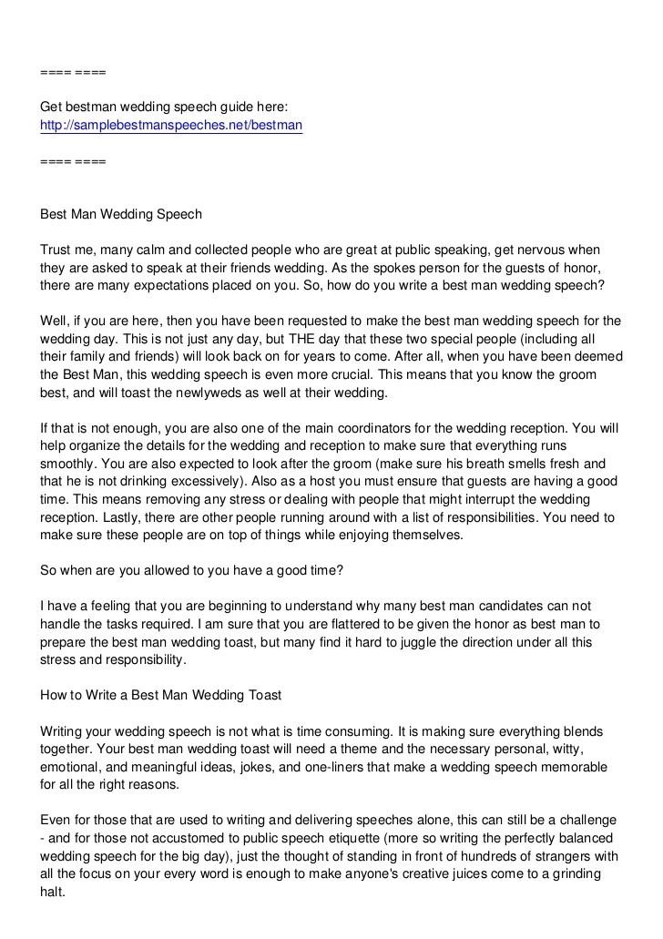How to write a speech essay