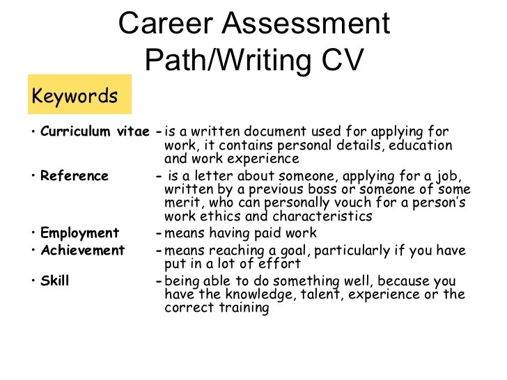 what to write on a cv - Akbagreenw