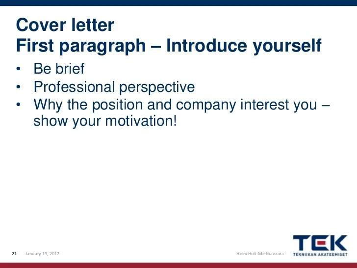 first paragraph of cover letters - Jolivibramusic - cover letter first paragraph