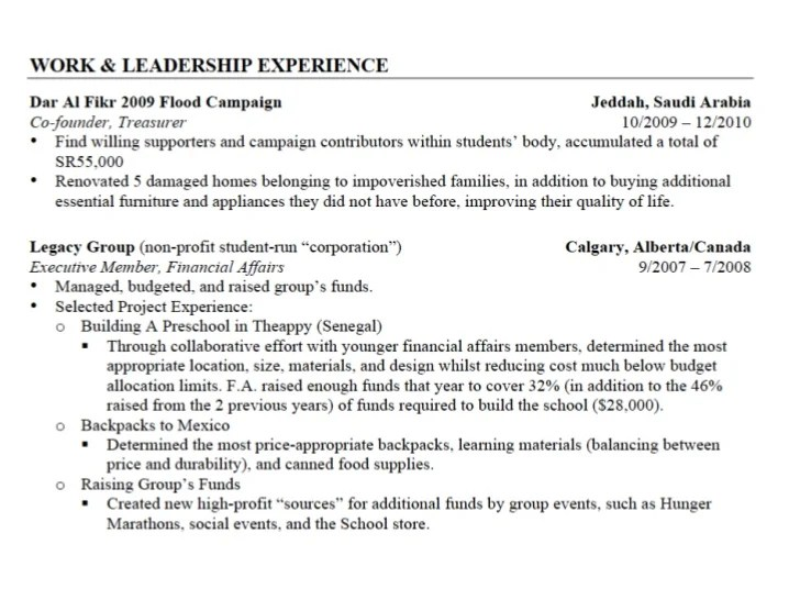 Red Star Resume How To Write A Good Cv