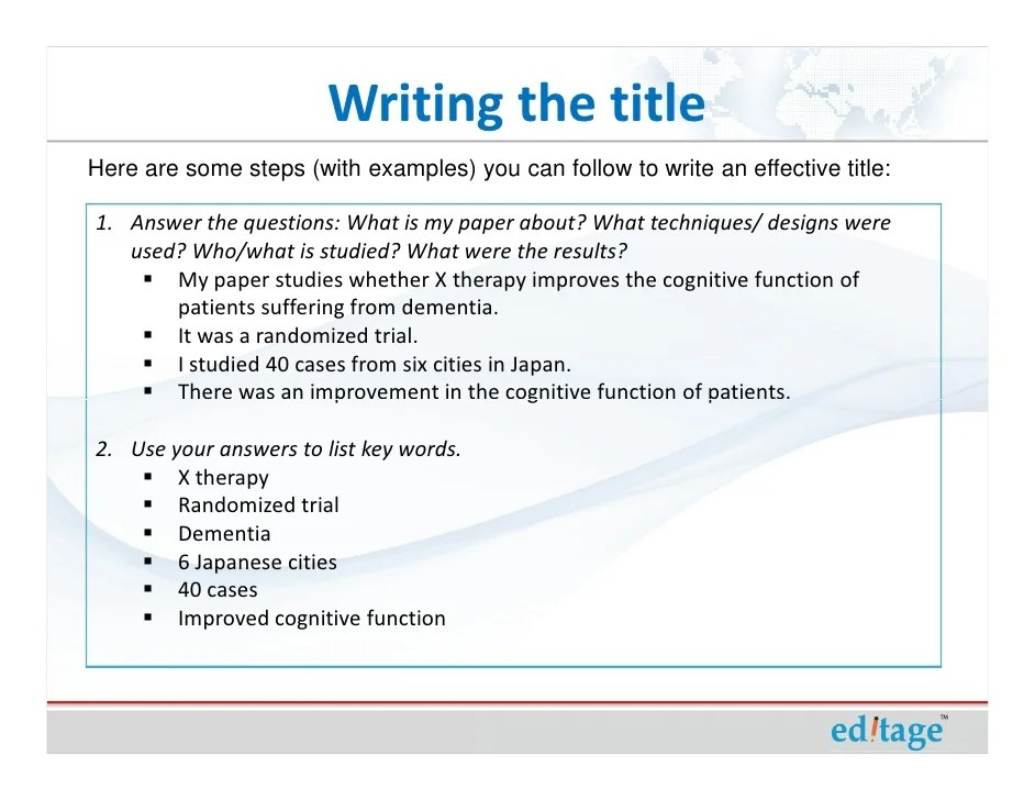 how to write a title - Minimfagency - how to write a title