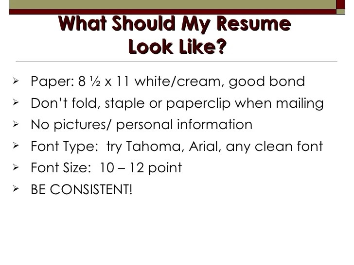 2 Page Resume Staple Or Paperclip. 5 bits of everlasting resume ...