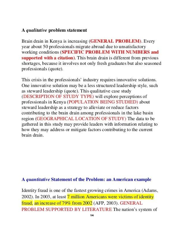problem statement in research - Canasbergdorfbib