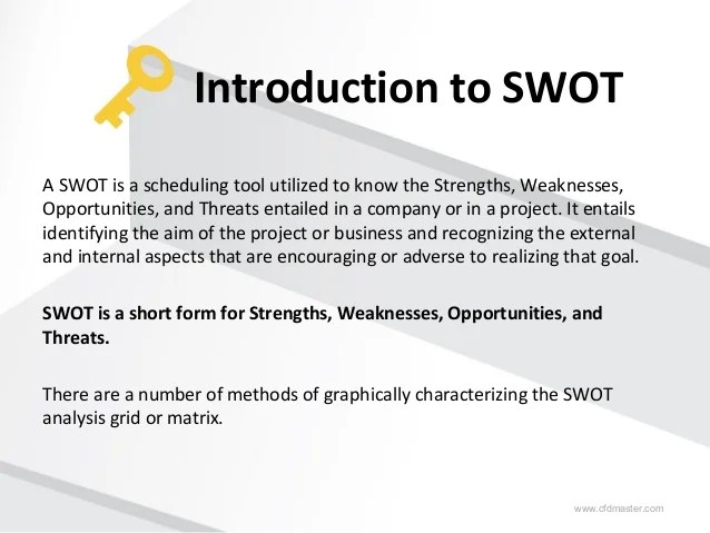 swot analysis sample report - Akbagreenw - Sample Analysis Report