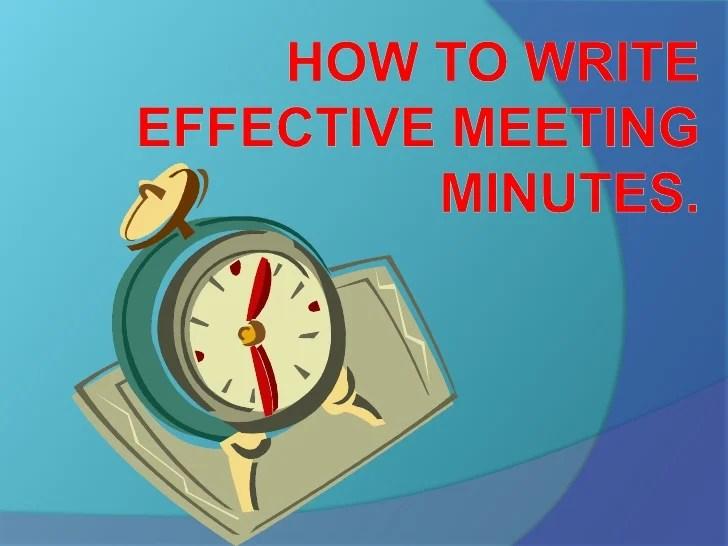 how do you take minutes of a meeting - Josemulinohouse