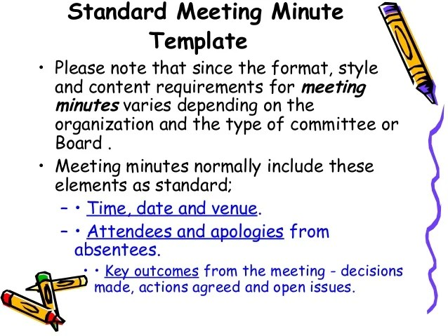 transcribing meeting minutes - Onwebioinnovate - example of meeting minutes template
