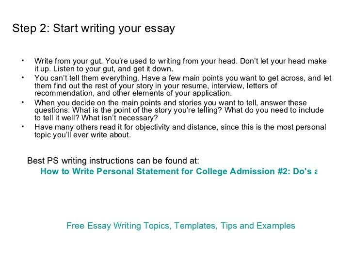 what to write for a personal statement on a college application Do you need help writing your college application personal statement.