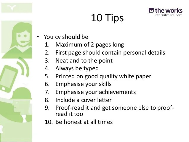 10 tips for creating a resume - Funfpandroid