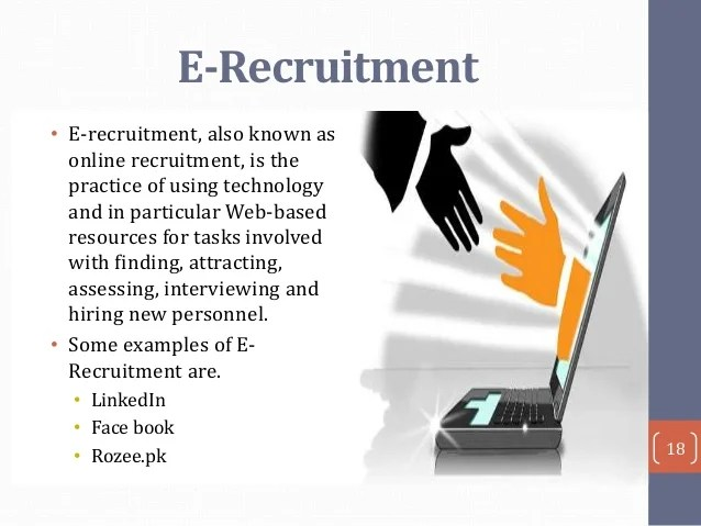 Online Recruitment Recruitment & Selection