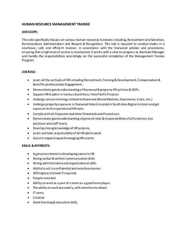 human resources associate job description - Selol-ink - human resources job description