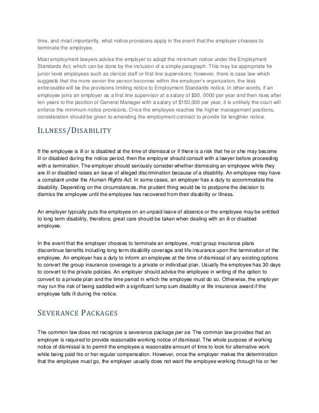 termination paper sample - Alannoscrapleftbehind