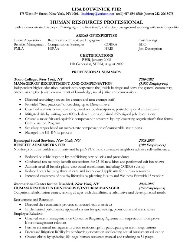 Sample Resume For Hr Internship | Teaching Philosophy Examples
